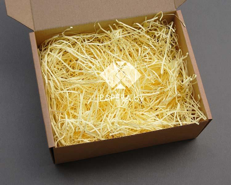 Желтая бумажная стружка