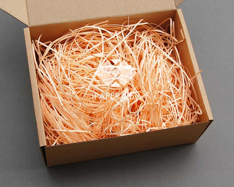 Персиковая бумажная стружка