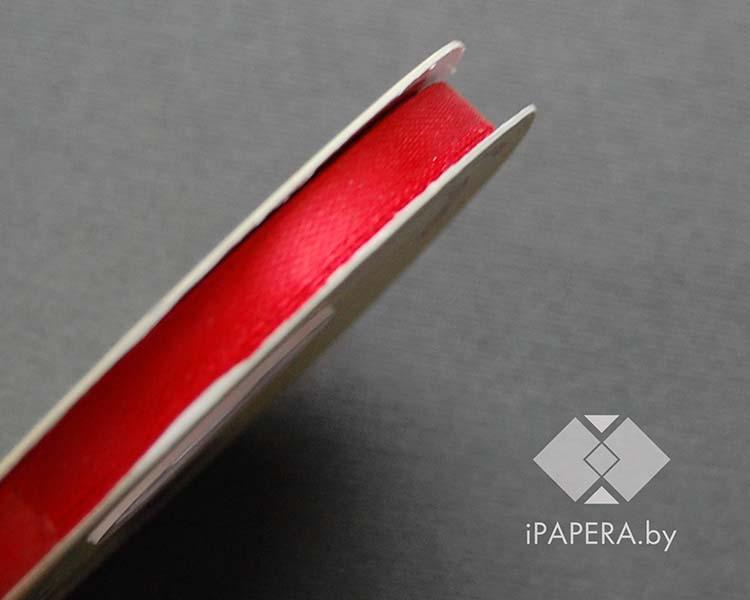Лента атласная (красная)