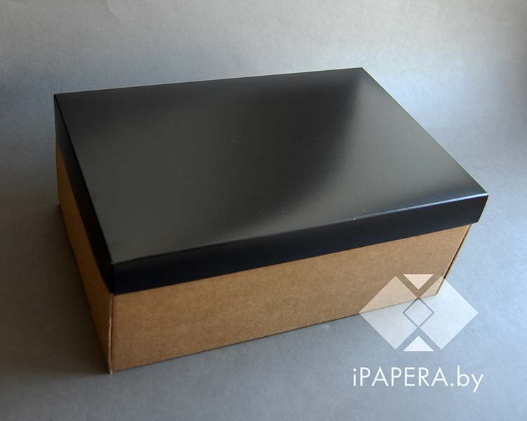Крафт коробка черная
