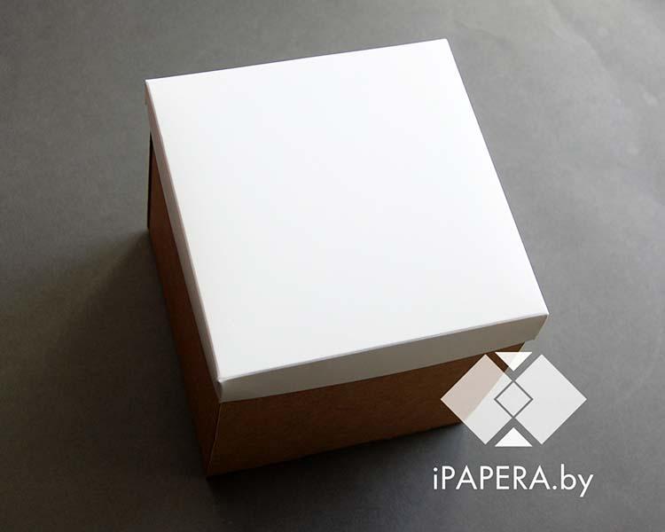 Крафт коробка белая
