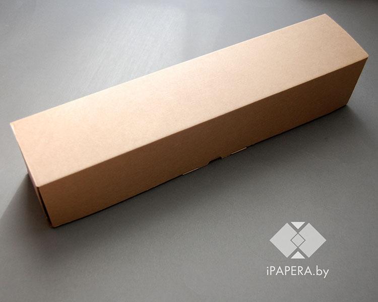 Крафт-коробка XL-1 (44,5×9,5×9,5 см)
