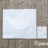 Белый крафт пакет