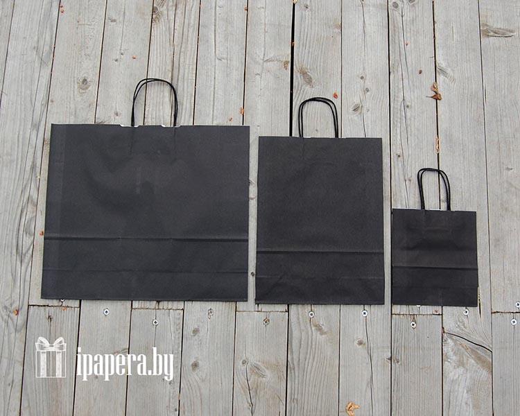 Крафт-пакет (черный)
