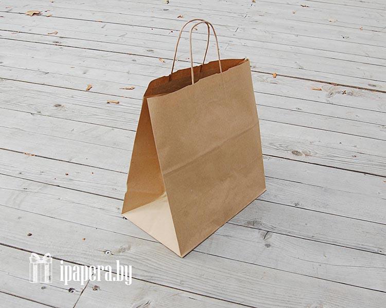 Крафт-пакет (с широким дном)