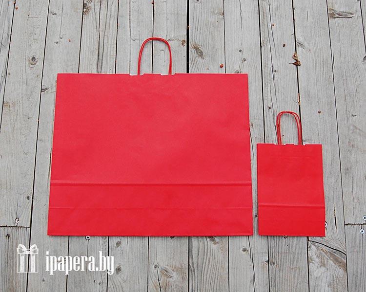 Крафт-пакет (красный)