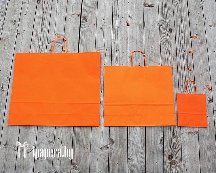 Крафт-пакет (оранжевый)