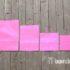 Розовые крафт пакеты