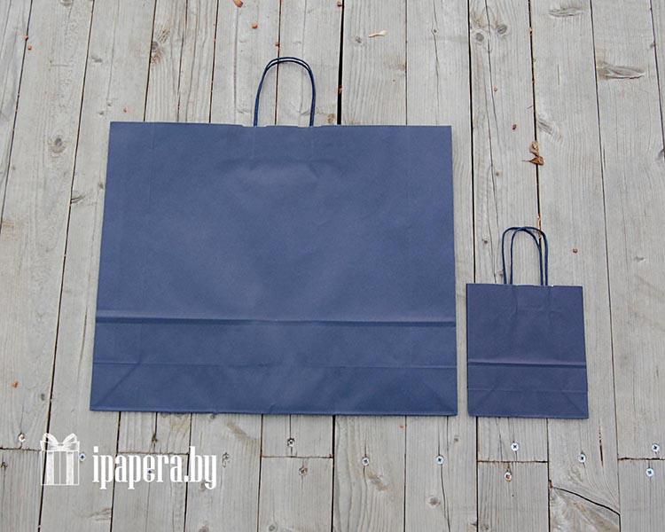 Крафт-пакет (синий)
