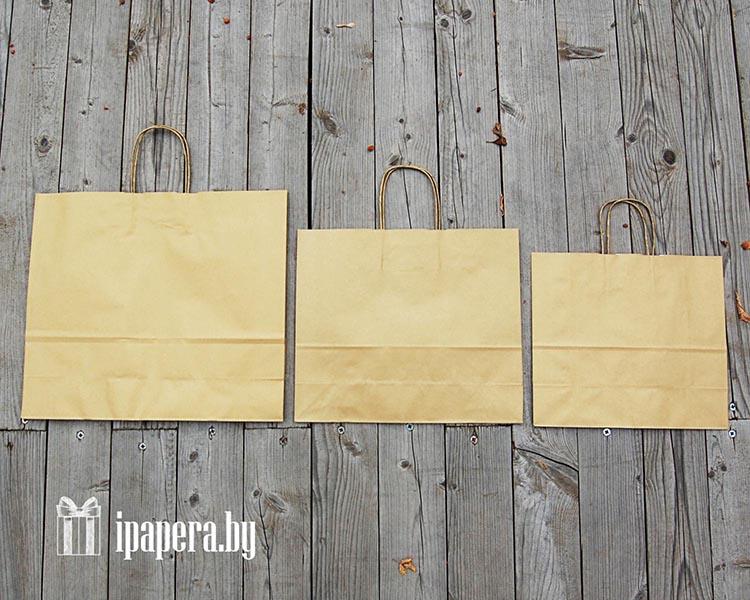 Крафт-пакет (золотой)